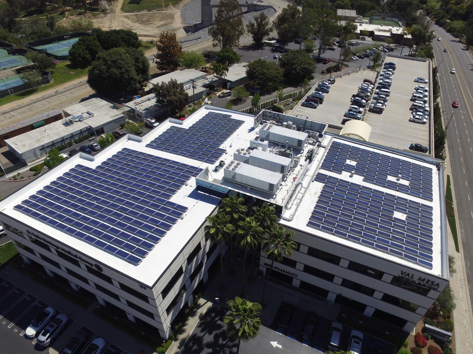 Val Mesa Medical Building- Drone Overview